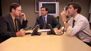 Download Michael, Jim, Dwight epic scene Video