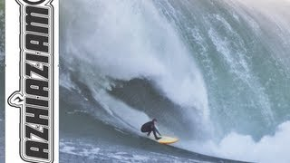 Download Raw Monster Mavericks surf session 2012 Jan 5th and 6th Mark Healy Video
