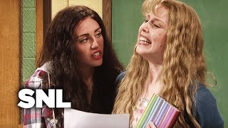 Download Poetry Class with Miley Cyrus - SNL Video