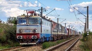 Download Diverse trenuri de marfa prin Romania Video