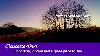 Download Gloucestershire CCG Professional Support Video