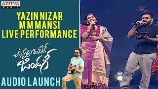 Download Yazin Nizar, M M Mansi Live Performance | Vunnadhi Okate Zindagi Audio Launch | Ram, Anupama Video