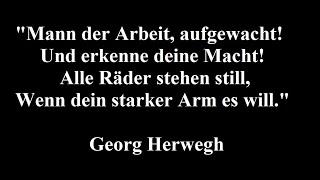 Download Bundeslied für den Allgemeinen Deutschen Arbeiterverein (Georg Herwegh, 1863) - Christoph Holzhöfer Video