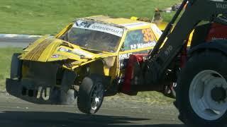 Download FinRX Autocross koostelähetys Kauhajoki 2/5 Video