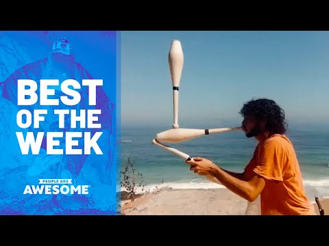 Inline Skating, Stick Juggling, Scooters & More | Best of the Week