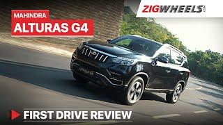 Download Mahindra Alturas G4 Review | Take a bow, Mahindra! 👏 | ZigWheels Video
