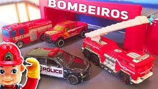 Download BRINQUEDOS DOS BOMBEIROS - Mini Cidade Video