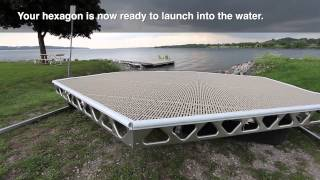 Download CanadaDocks™ Hexagon Floating Dock Kit Video