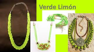 Download Tendencias en colores para Joyeria Artesanal 2018 Video