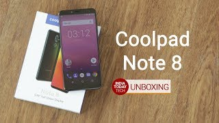 Download Coolpad Note 8 unboxing and quick review Video