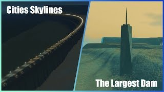 Download Breaking The LARGEST Dam in Cities Skylines Video
