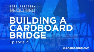 Download Building a Temporary Bridge from Cardboard Video