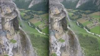 Download 3D Wingsuit in the Alps Video