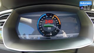 Download 2015 Tesla Model S P85 D (700hp) - 0-240 km/h acceleration (60fps) Video