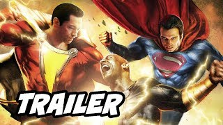 Download Shazam Trailer - Superman Black Adam Post Credit Scene Theory Breakdown Video