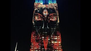 Download Bizarre Images of ″Satan″ Appear on Empire State Building Video