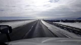 Download BigRigTravels LIVE! Deer Lodge to Butte, Montana Interstate 90 East-Feb. 19, 2018 Video