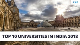 Download Top 10 Universities In India 2018 Video