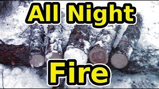 Download Learn The Siberian All Night Log Fire Video