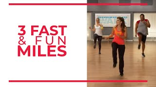 Download 3 Fast & Fun Miles - Mile 3   Walk at Home Workout Video