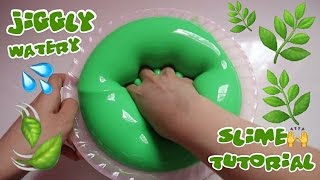 Download JIGGLY WATERY BLEBERBLEBER SLIME TUTORIAL WITH MIX GLUE - SUPER FUN TO PLAY BHS INDONESIA Video