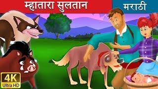Download म्हातारा सुलतान | विश्वासू कुत्रा ची गोष्टी | छान छान गोष्टी मराठी | Marathi Fairy Tales Video