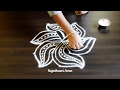 Download simple kolam designs with 5 dots || chukkala muggulu ||easy pulli rangoli designs with dots Video