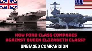 Download HOW FORD CLASS COMPARES AGAINST QUEEN ELIZABETH CLASS? Video