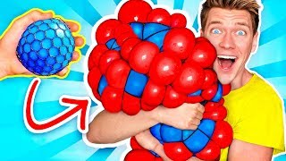 Download 10 Weird Stress Relievers For Back To School! Learn How To Diy Squishy Slime School Supplies Prank Video