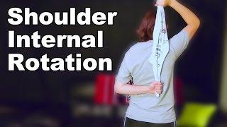 Download Shoulder Internal Rotation Stretches - Ask Doctor Jo Video