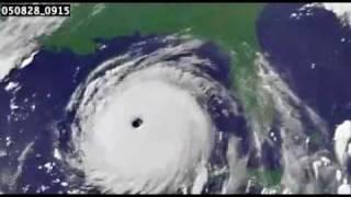 Download Animation of Hurricane Katrina's lifespan Video