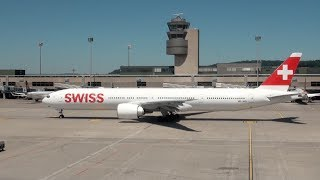 Download 41 Airlines - 88 Aircraft: Rush Hour Action Spotting at Zurich ZRH Airport 05/2017 Video