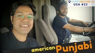 Download AMERICAN COUNTRYSIDE with PUNJABI TRUCKER   Beautiful Village and Farms Video