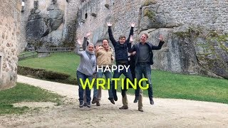 Download NaNoWriMo tips from a castle full of writers! Video