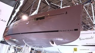 Download 2017 Beneteau Oceanis 38.1 Sailing Yacht - Deck and Interior Walkaround - 2016 Salon Nautique Paris Video