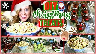 Download DIY CHRISTMAS TREATS | QUICK & EASY HOLIDAY PARTY TREATS Video