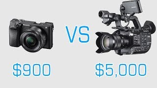 Download Sony a6300 vs Sony FS5 : Camera Shootout Video