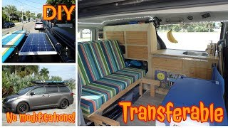 Download Van Tour: DIY conversion with a stealth van (FAST and INEXPENSIVE) Video