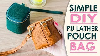 Download DIY MINI LOVELY PURSE BAG TUTORIAL // Cute Coin Pouch Card Holders Video