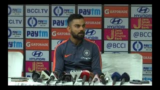 Download Keeping the World Cup in mind, we think Rayudu is the best option at No.4 - Virat Kohli Video