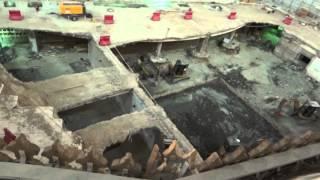 Download zamzam well area construction {full HD} آب زم زم Video