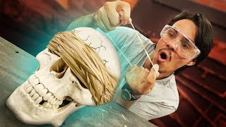 Download Will Rubber Bands Crush A Skull?! Video