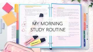 Download My Morning Study Routine Video