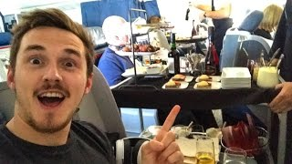 Download This is FIRST CLASS on a plane! Video