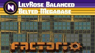 Download Factorio Engineering - LILYROSE BEAUTIFUL BALANCED BELTED MEGABASE - Community Map Review Video