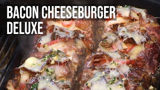 Download Bacon Cheeseburger Deluxe Recipe BBQ Pit Boys Style Video