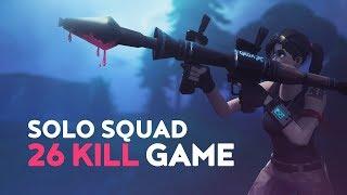 Download SOLO vs. SQUAD - 26 KILL WIN! (Fortnite Battle Royale) Video