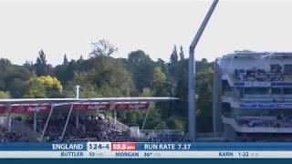 Download T20 Highlights - England v India, Edgbaston - England reach 180-7 Video