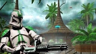 Download Star Wars Battlefront 2 Mods Kothlis Sea Haven - Battlefront Extreme Mod - Clone Wars - Gameplay Video