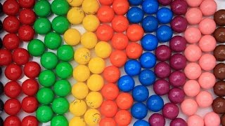 Download Learn colors with gumballs gum ball toy video learn to spell and pronounce colors Video